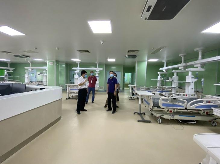 新会区中医院ICU病房建设项目竣工